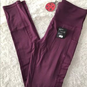 Pants - Rose High Waist Workout Leggings